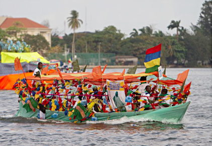 Carnival on water
