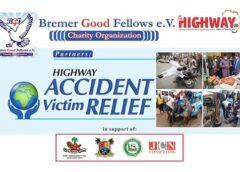 Bremer Good Fellows partners on the highway Africa;  provide succour to accident victims